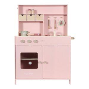 cocina madera rosa