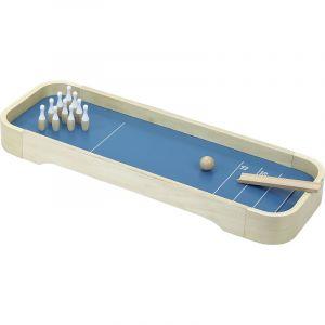 curling bolos madera niños
