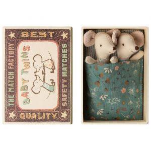 ratoncitos gemelos bebe maileg