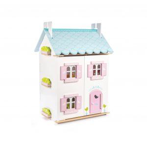 casa muñecas eco madera