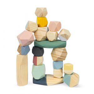 juguete madera apilar construccion