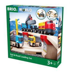 BRIO movimiento trenes construcción