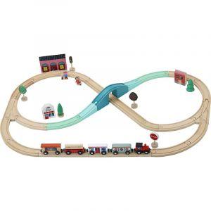 tren vilac circuito madera
