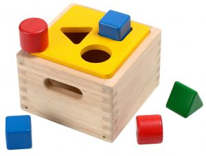 caja formas colores plan toys