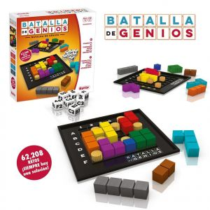 batalla genios juego mesa logica espacial