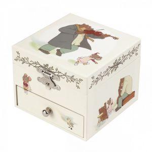 caja musica Ernest&celestine Trousselier