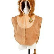 Disfraz león capa
