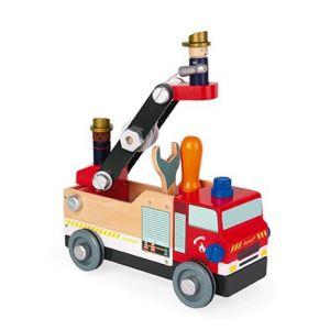bomberos camion construccion janod