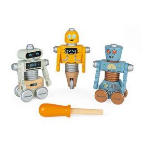 madera robots motricidad montaje janod