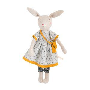 muñeco conejita tela MoulinRoty