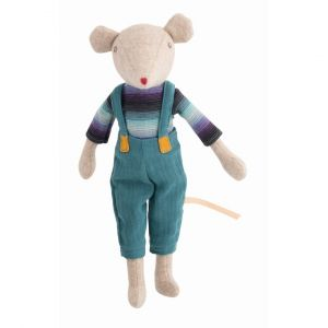 muñeco raton tela MoulinRoty