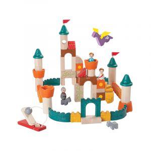 plantoys construccion madera castillo