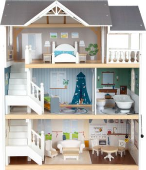 casa muñecas Smallfoot madera